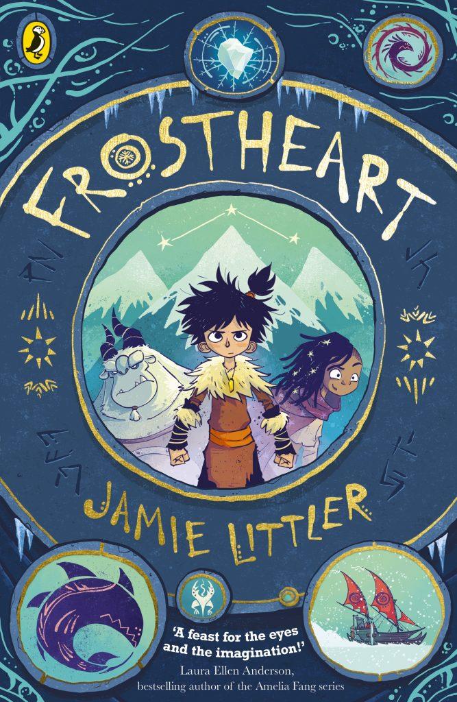 The cover of Jamie Littler's FROSTHEART.