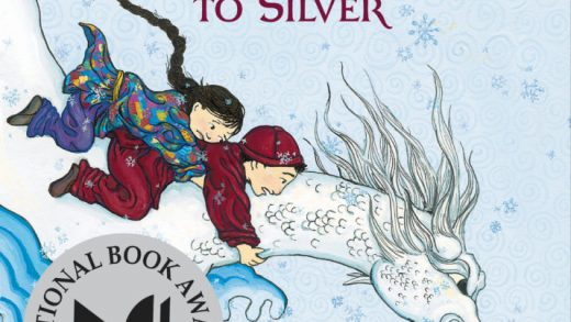 The cover of Grace Lin's WHEN THE SEA TURNED TO SILVER.